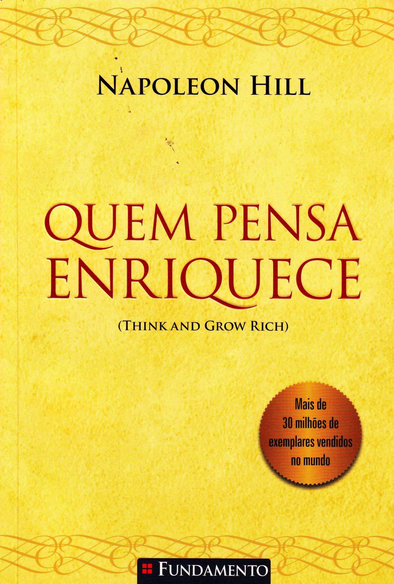 """Compre o livro """"Quem Pensa, Enriquece"""" na Amazon"""