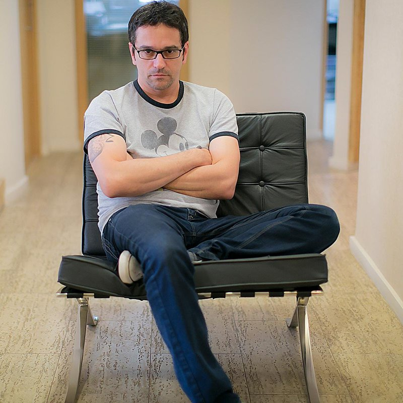 """Joni Galvão, autor do livro """"Super-Histórias"""""""