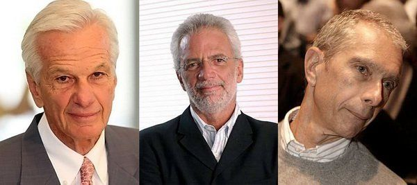 Jorge Paulo Lemann, Marcel Telles e Beto Sicupira