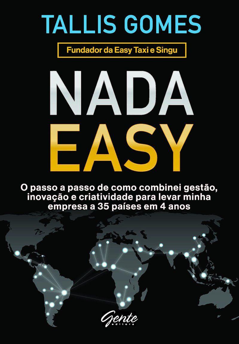 "Livro ""Nada Easy"", de Tallis Gomes"