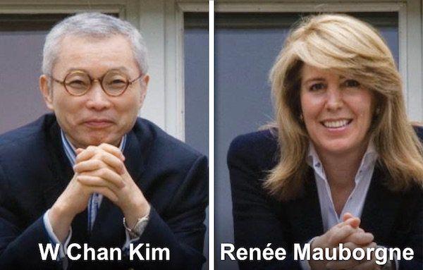 W. Chan Kim e Renée Mauborgne, autores de A Estratégia do Oceano Azul