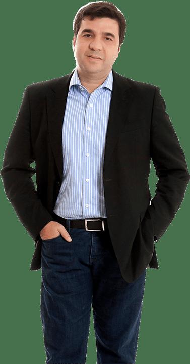 """João Kepler, empreendedor, investidor e autor de 3 livros, incluindo """"Smart Money"""""""