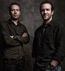 """Jason Fried e David Heinemeier Hansson, autores de """"Remote"""" e outros livros"""