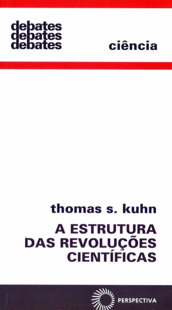 Capa do livro A Estrutura das Revoluções Científicas