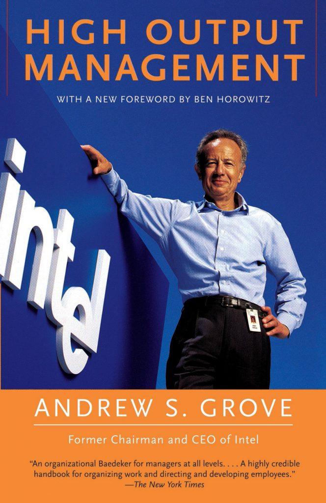 Capa do livro High Output Management