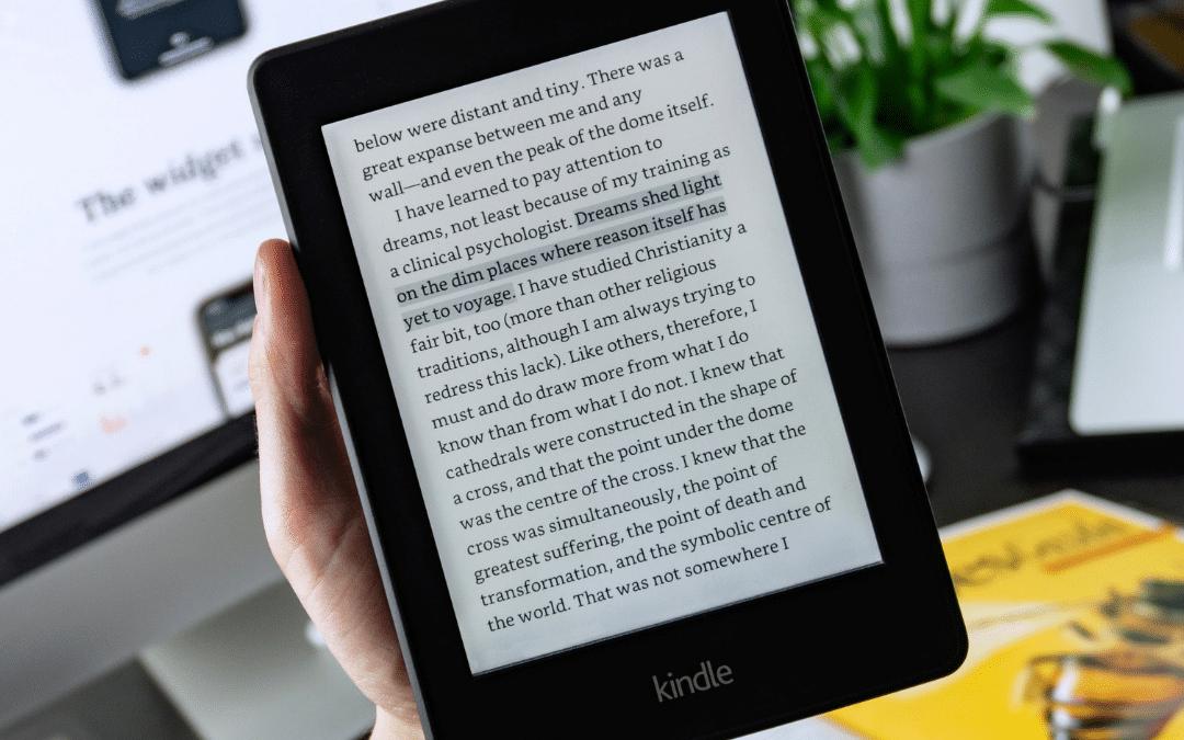 leitor de livros digitais