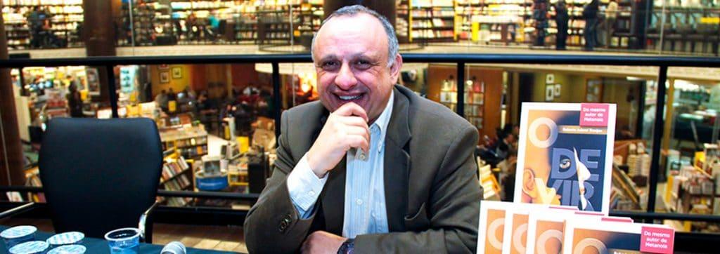 Roberto Tranjan, autor do livro O Velho e o Menino