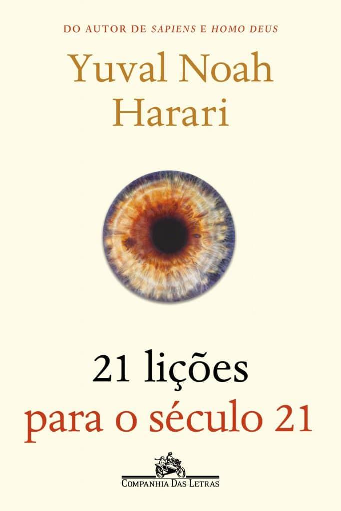 Livro 21 Lições Para o Século 21, de Yuri Noah Harari