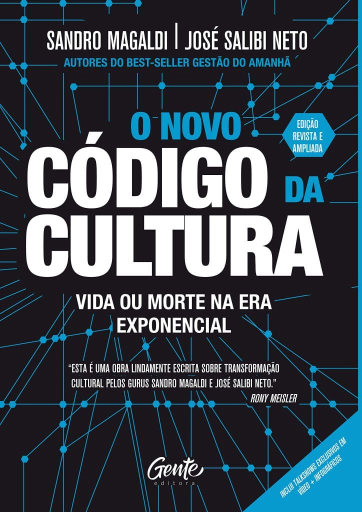 Livro O Novo Código da Cultura, de Sandro Magaldi e José Salibi Neto