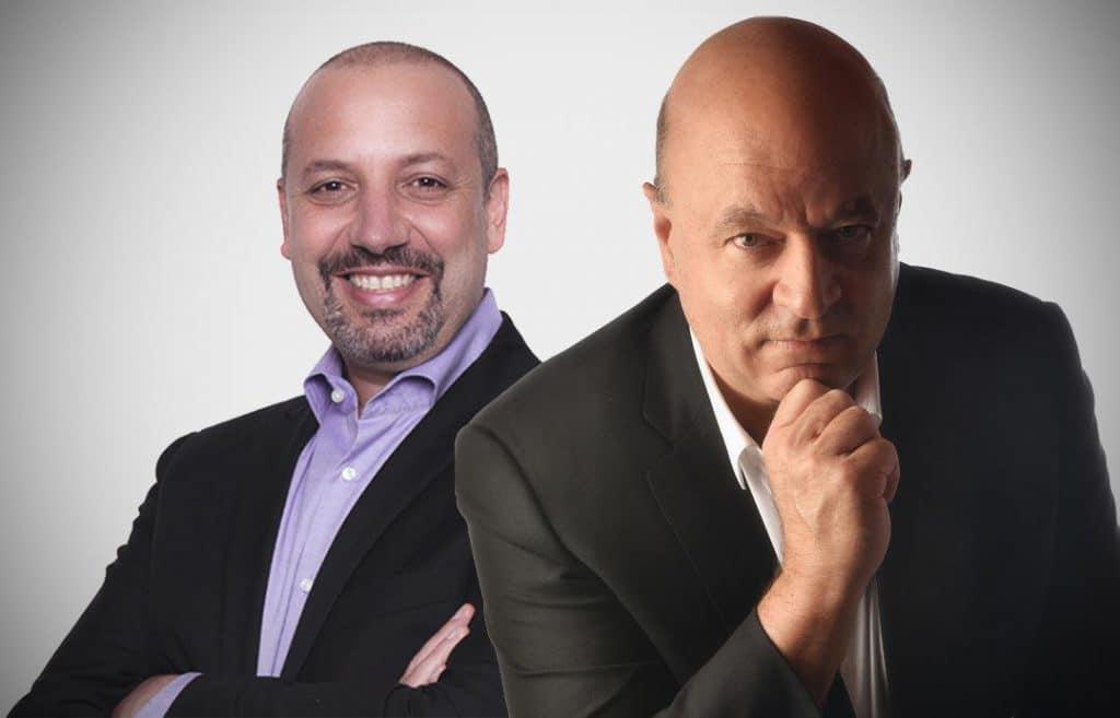 Sandro Magaldi e José Salibi Neto, autores do livro O Novo Código da Cultura, Gestão do Amanhã e O Que as Escolas de Negócios Não Ensinam