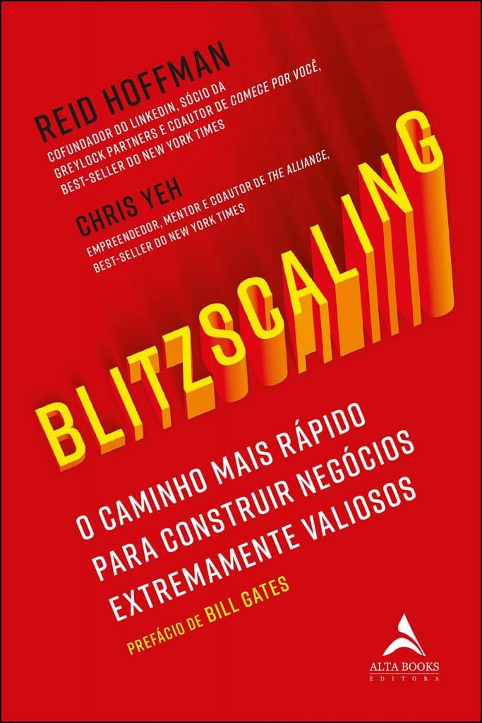 Capa do livro Blitzscaling, de Reid Hoffman