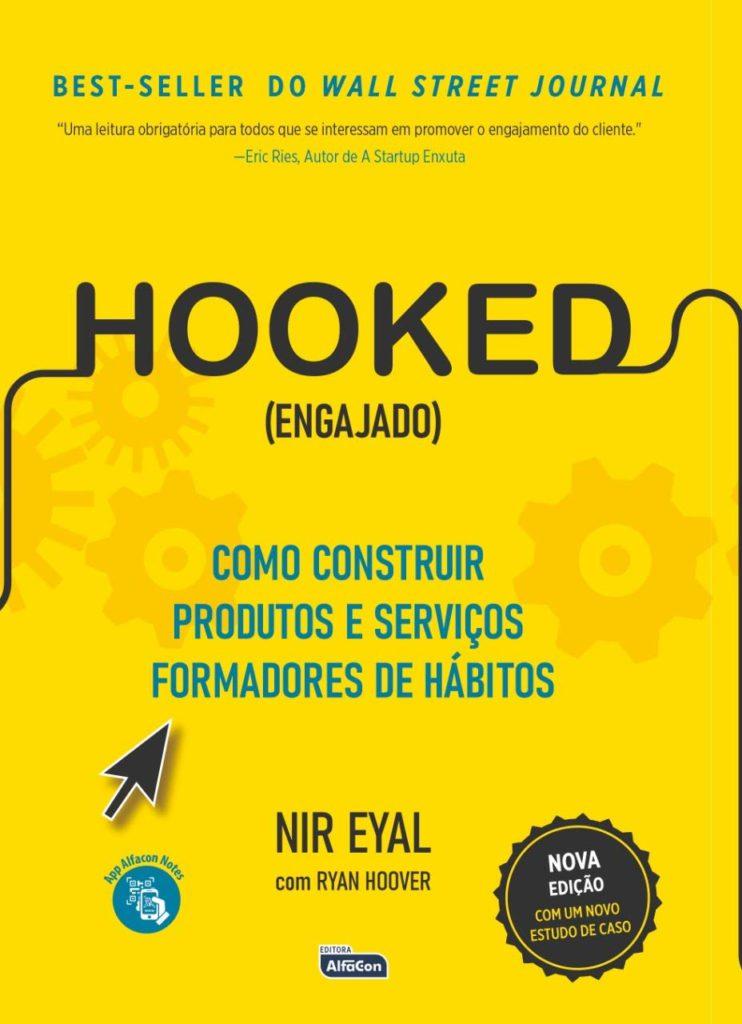 Capa do livro Engajado (Hooked), de Nir Eyal