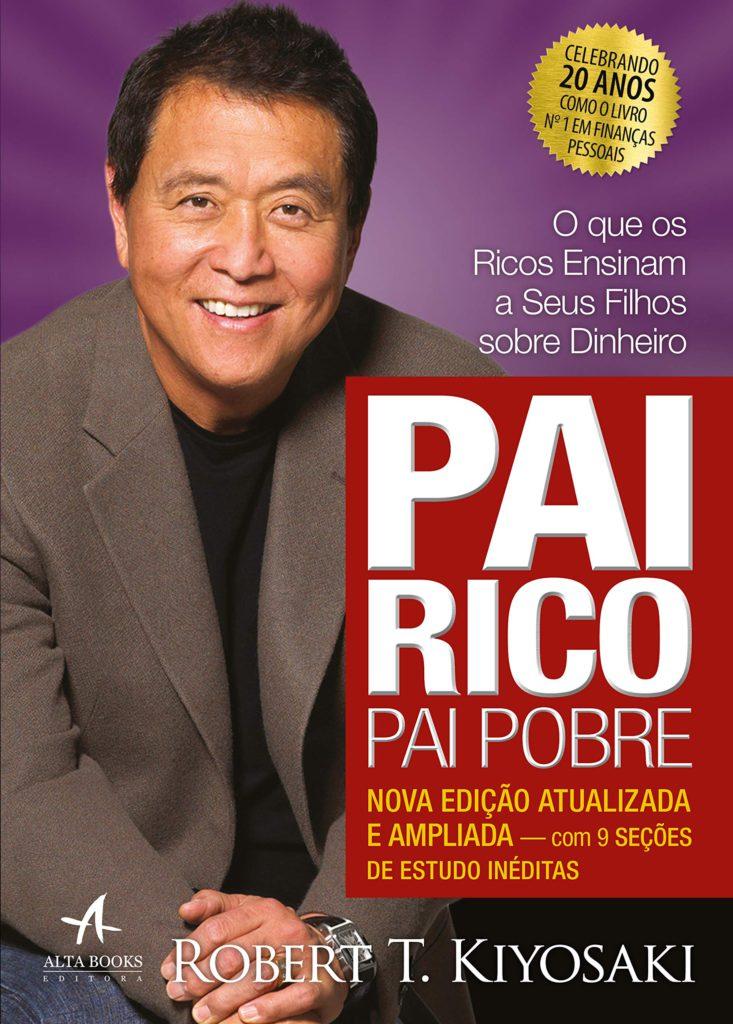 Capa do livro Pai Rico Pai Pobre de Robert Kiyosaki