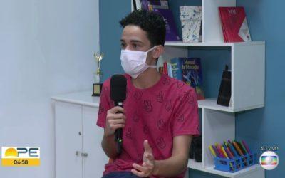 Estudante de 17 anos cria startup de jogos digitais voltados para facilitar aprendizagem | Educação em Pernambuco