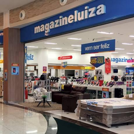 Fachada de lojas do Magazine Luiza. Foto: Divulgação Foto: Agência O Globo