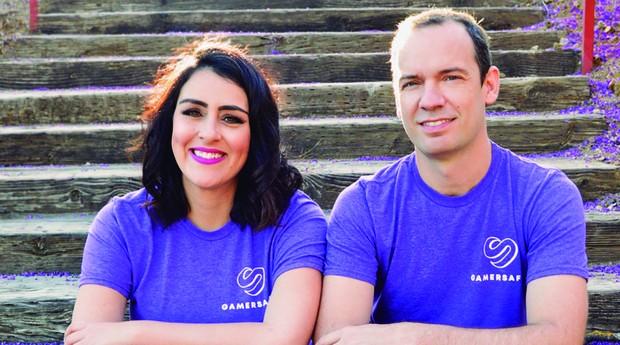 Maria Oliveira e Rodrigo Tamellini, fundadores da GamerSafer  (Foto: Divulgação)