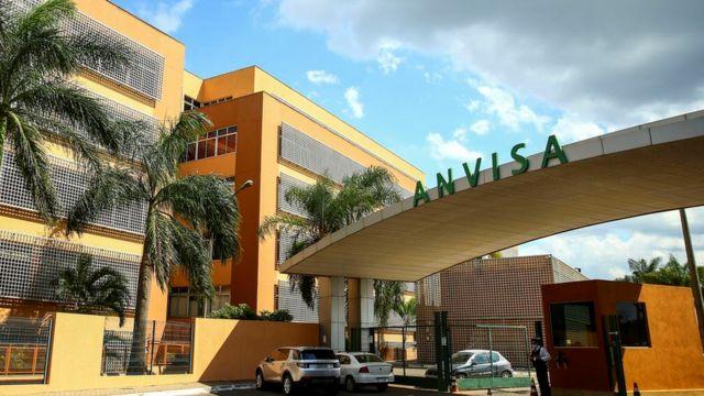 Fachada do prédio da Anvisa, em Brasília