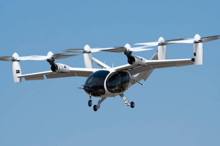Projeção de como deve ser o eVTOL, carro voador, da Joby(Foto: Joby Aviation/divulgação)
